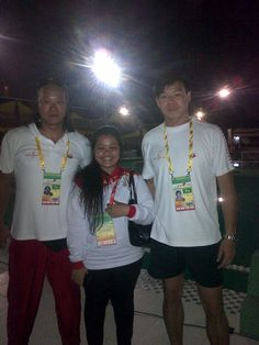 w/ Coach of DKI Water Polo Team