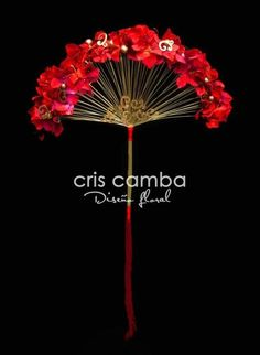 Floral fan from Cris Camba