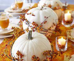 Thanksgiving Decor: White Pumpkins | Home Decor News