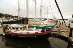 hans christian sailboat - Google Search