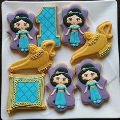 Princess jasmine cookies