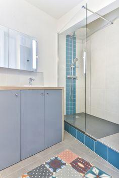 1000 ideas about colonne de douche on pinterest douche hydromassante baig - Salle de bain frise verticale ...