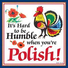Ceramic Tile Magnet: Humble Polish – DutchNovelties