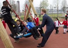 Pin for Later: Prince Harry's Playground Antics Are Hilarious