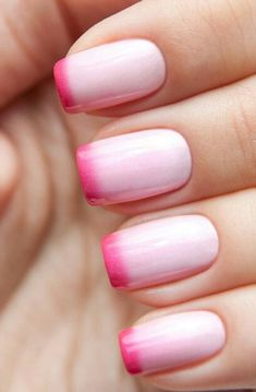 Nail art is a very popular trend these days and every woman you meet seems to have beautiful nails. It used to be that women would just go get a manicure or pedicure to get their nails trimmed and shaped with just a few coats of plain nail polish. French Tip Nail Designs, Valentine's Day Nail Designs, Nails Design, Valentine Nail Designs, Manicures, Gel Nails, Nail Polish, Pink Polish, Toenails