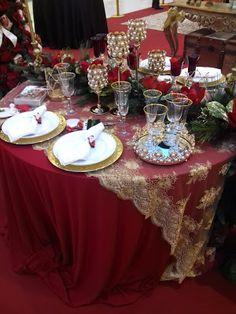 Minha Vida, Beleza Minha: 1ª mostra de mesas de decoração de natal
