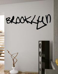 Vinyl Wall Decal Sticker Brooklyn NYC