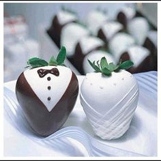 In Chocolate Covered Strawberry Love!