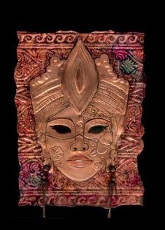 Metal embossed mask