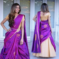 Looking for new blouse back neck designs to your silk (aka pattu) sarees? Check out our latest 13 blouse models to find out what is trending this season.