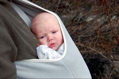 adjustable fleece pouch sling