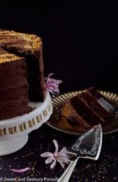 Chocolate Celebration Cake | From Sweet and Savoury Pursuits