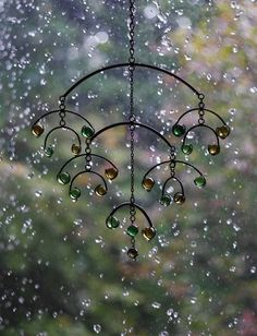 Hanging in the rain