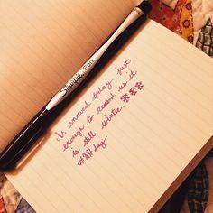 26th Creativity Challenge: Handwriting Day 2015 - A Handwritten Tweet...