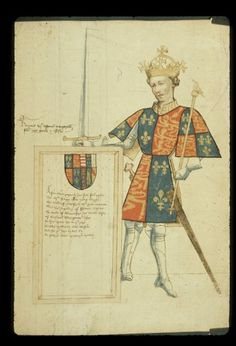 British Library Harley 4205   f. 8  Henry VI