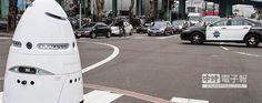 美國矽谷一家高科技公司成功研發出機器人警察。(圖取自knightscope官網)