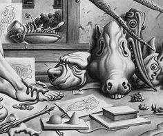 You all knew that Jim Woodring was awesome but did you know he had a blog?