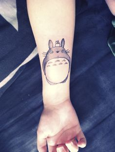 If I ever got a tattoo, I think it would be a Totoro tattoo.