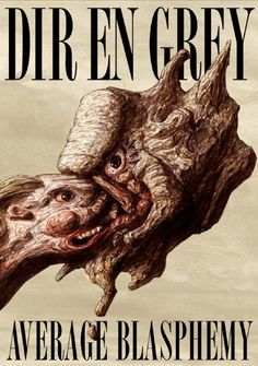 AVERAGE BLASPHEMY [DVD] ~ DIR EN GREY