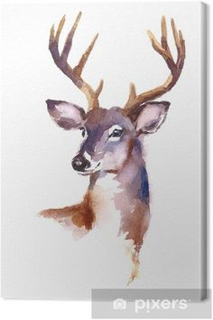 watercolor beautiful wildlife fabric quilt deer elk 370 Wildlife Fabric Deer Fabric Watercolor Fabric Elk Fabric 370 Beautiful QuiltYou can find Watercolor art and more on our website Watercolor Paintings Of Animals, Watercolor Deer, Watercolor Fabric, Watercolor Projects, Easy Watercolor, Animal Paintings, Watercolor Illustration, Deer Paintings, Deer Sketch