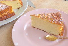 La recette du Fameux Gâteau au fromage blanc pas à pas - épais, moelleux et léger.