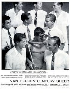 1957 Van Heusen shirts