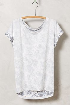 Love tees with a twist.  The inside out look is adorable.