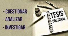 Apuntes sobre el plagio en una tesis doctoral http://insurgenciamagisterial.com/apuntes-sobre-el-plagio-en-una-tesis-doctoral/