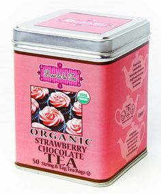 This Organic Strawberry Chocolate Tea - Set of Two is perfect! #zulilyfinds