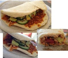 Mmmmmh! Türkische Pizza nach VFF gabs zum Mittagessen bei Michelle. Sieht toll aus! http://laveganee.blogspot.de/2013/03/vegan-wednesday-14.html