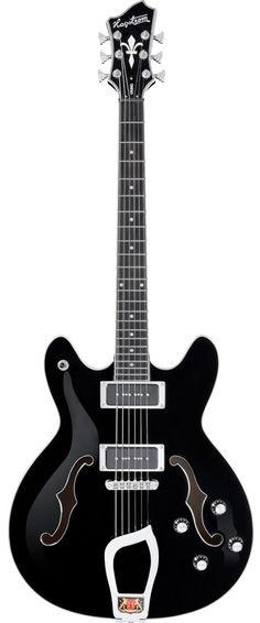 Hagstrom Viking P Gloss Black Electric Guitar #hagstrom #guitar