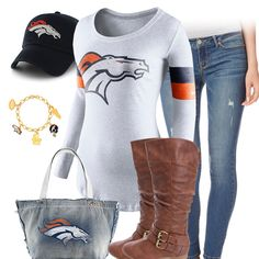 Cute Denver Broncos Outfit
