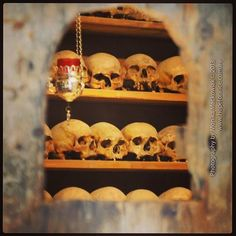 skulls Mexican Skull Tattoos, Mexican Skulls, Floating Shelves, Liquor Cabinet, Travel Photography, Greece, Home Decor, Greece Country, Decoration Home
