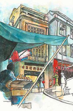 Peel Street, Central, Hong Kong