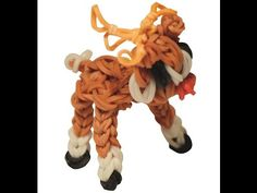 YouTube - 3D Rentier Rainbow Loom, Bowser, 3d, Videos, Youtube, Fictional Characters, Reindeer, Other, Tutorials