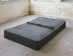 Rachel Whiteread, Untitled (Black Bed), 1991