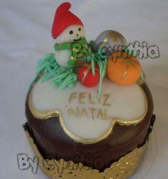 Ideias de decoração em pão de mel para o Natal.