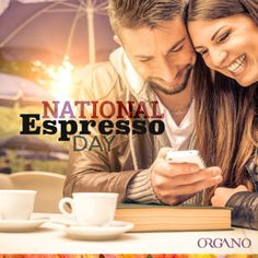 The ORGANO™ Global Family Celebrates The Glory of Coffee – It's National Espresso Day!