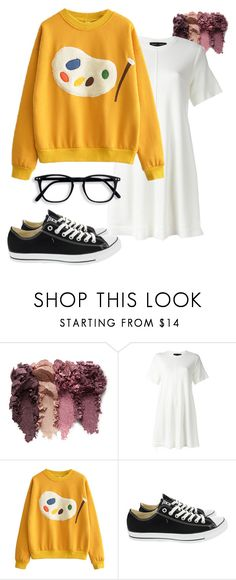 """""""Cute Artist"""" by yokotagirl ❤ liked on Polyvore featuring Proenza Schouler and Converse"""