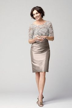 Mother of the bride; Collection 20 Dress 71724 | Watters.com ~~~ Cashmere: