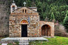 ΜΑΙΝΑΛΟ: Ι.Ναός της Ζωοδόχου Πηγής στην Ελάτη