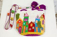 Luna Azul | VK Animal Knitting Patterns, Tapestry Crochet Patterns, Crochet Baby, Knit Crochet, Tapestry Bag, Handmade Bags, Hobo Bag, Crochet Flowers, Cross Stitch Patterns
