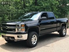 2014 Chevrolet Silverado 1500 Spaced Out Stockers Spaced Out Stockers Motofab Leveling Kit