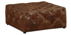 """Porter """"Ready To Ship"""" Square Tufted Coffee Table Ottoman"""