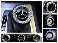 Shop the original crystal car Bling Ring Emblem car accessory. It's a sparkling girly rhinestone ring for car start button ignitions, knobs & more, made by Bling Car Decor Bling Car Accessories, Car Interior Accessories, Classy Cars, Diy Crystals, Cute Cars, Car Decals, Car Stickers, Crystal Rhinestone, Gifts For Women