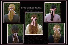 Every Girl Needs A Pink Ribbon !