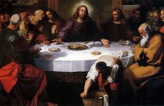 La última cena de Juan Ribalta 1616 España