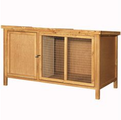 The Hutch Company Bateman Single Small Animal Hutch 4x2x2'
