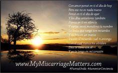 Usted ha esperado y esperado y finalmente esta aquí. Únase a nuestra nueva pagina Miscarriage Matters, Inc en Español y obtenga el apoyo que usted necesita.   http://www.mymiscarriagematters.com/miscarriage-matters-en-espantildeol.html  Mujeres unasen: https://www.facebook.com/groups/1534337193504991/