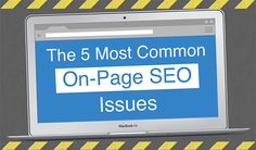 5 Common #SEO Issues That Prevent Your Site Reaching Page One of Google: https://blog.red-website-design.co.uk/2016/01/07/5-common-seo-issues-that-prevent-your-site-reaching-page-one-of-google/ #Marketing